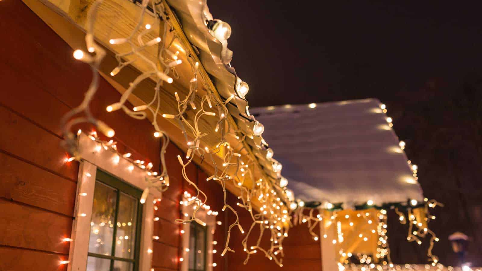 We love the bright lights, but don't damage your roof in the process! Here are our light hanging tips.