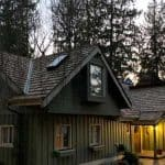 Cedar shake shingles are beautiful and classic. A great look for a residential roof in the Seattle area.