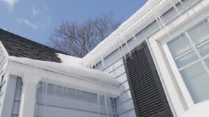 Snow and ice can be a major factor in roof damage. Here's what to look for.