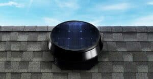 A solar attic fan is affordable and efficient.