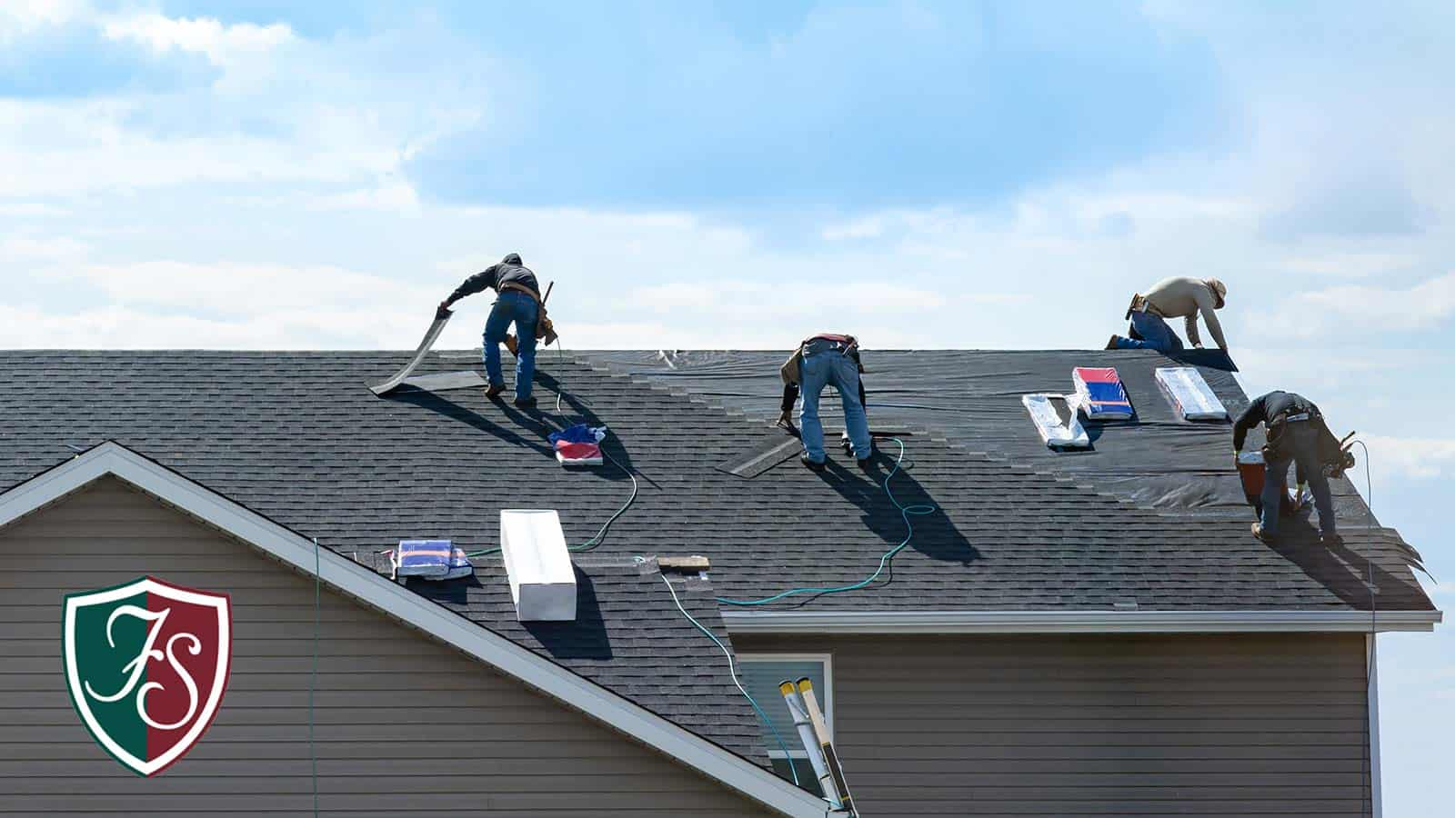 Replacing or repairing composition shingles isn't too difficult, but you still might want to use professional roofing contractors, especially for bigger jobs.